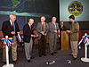 JSC2006-E-43986 -- Ribbon cutting ceremony for new station Flight Control Room