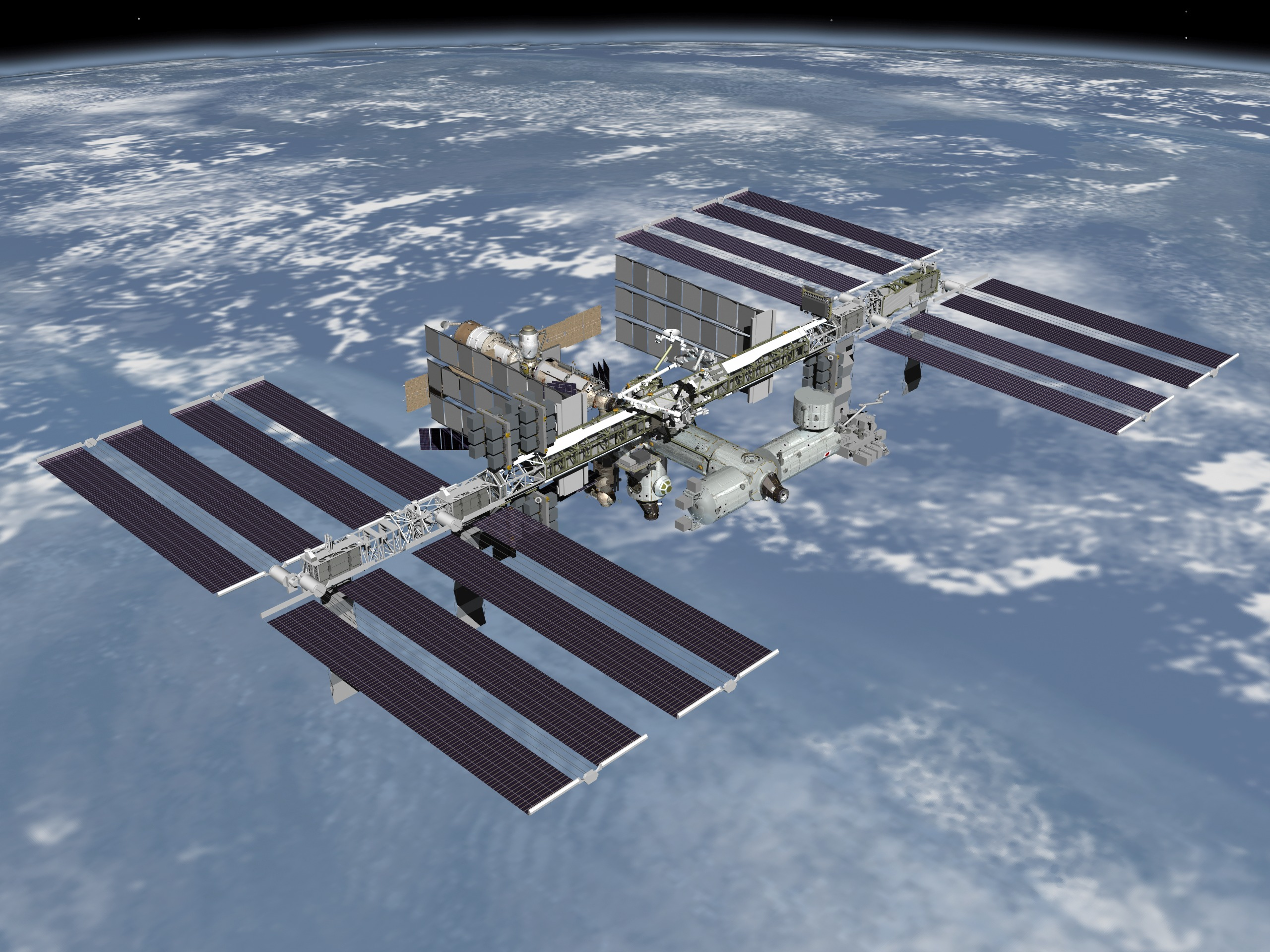 us nasa space station-#21