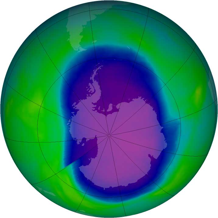 nasa ozone hole - photo #28