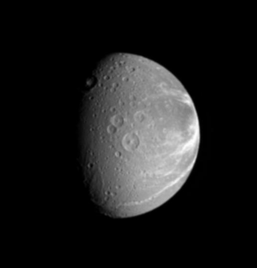 Dione's Creeping Canyons