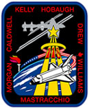 STS-118 crew patch