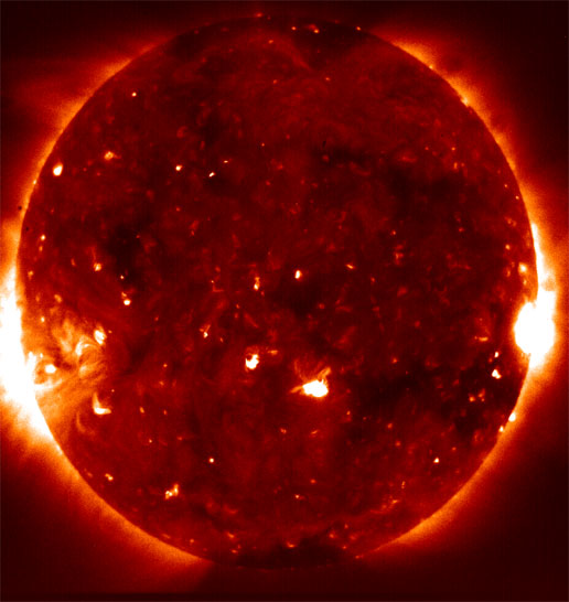 Hinode X-Ray Telescope image of the sun
