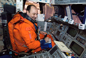 JSC2006-E-40818: Mark L. Polansky, STS-116 commander