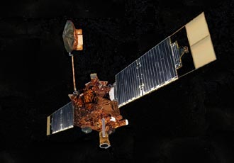 artist concept of Mars Global Surveyor