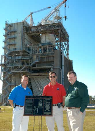 A-1 Test Stand at NASA Stennis Space Center