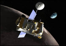 Artist's concept of LRO spacecraft