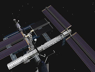 Así quedó la estación. NASA