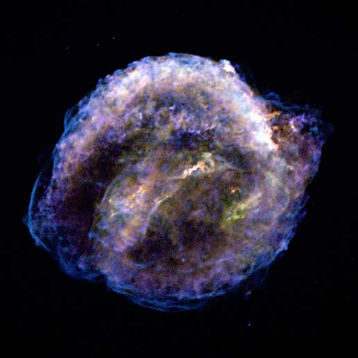 Chandra X-ray image of Kepler's Supernova Remnant