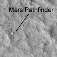 Pathfinder lander on surface