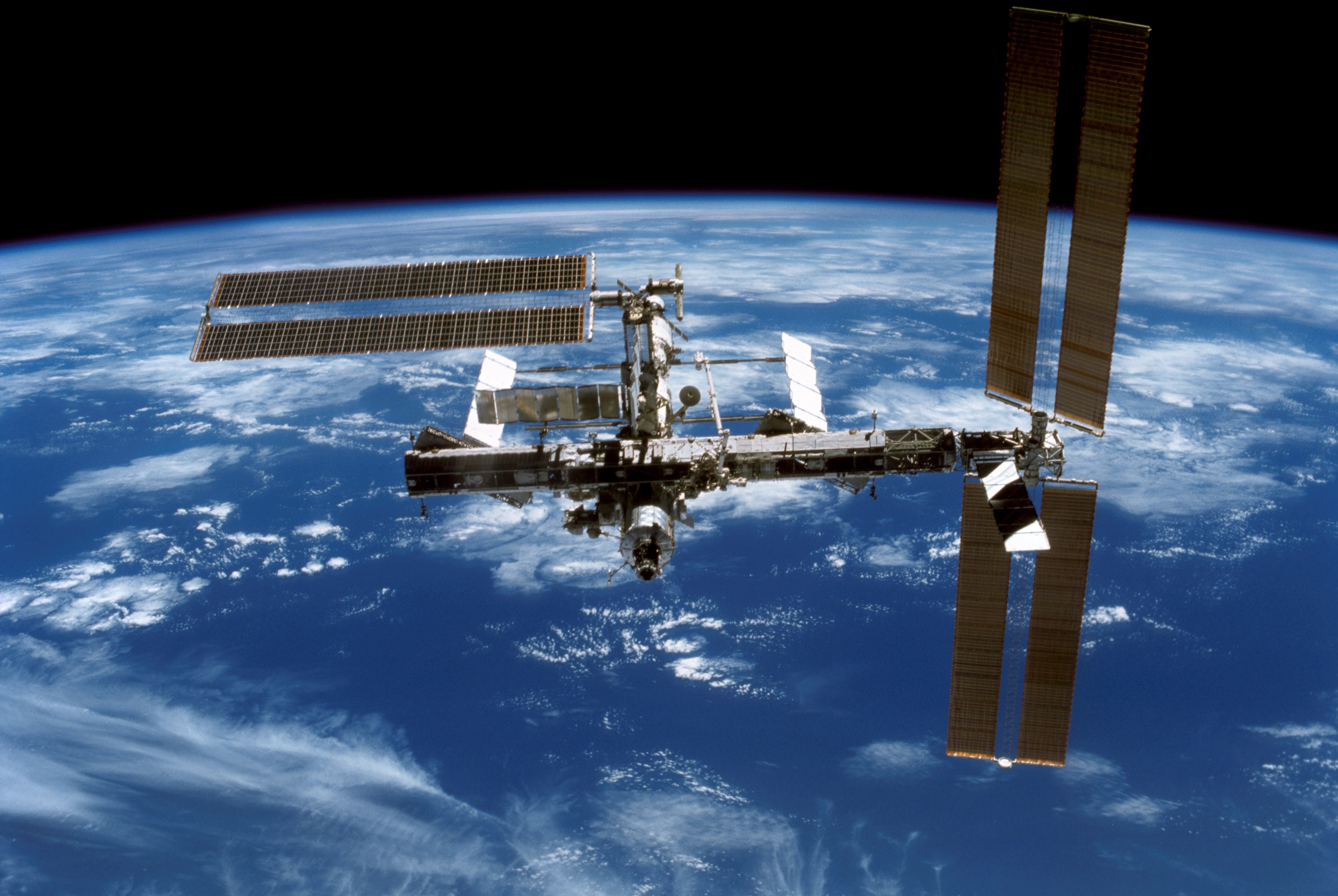 New Scientist Space Blog: ISS safe from anti-satellite ...