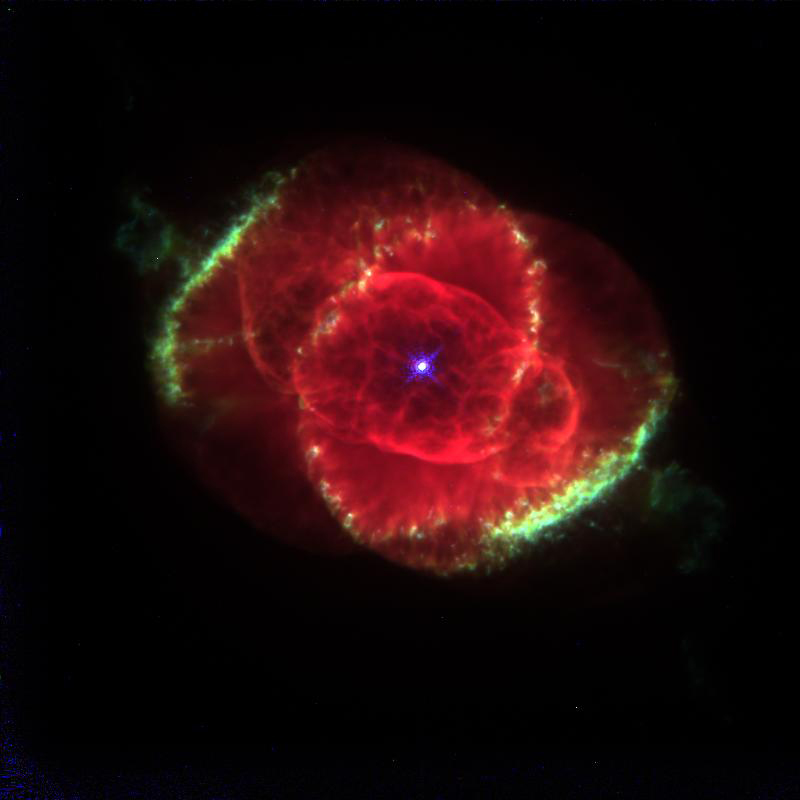 Public Domain Clip Art: Space the Final Frontier, Cat's Eye Nebula