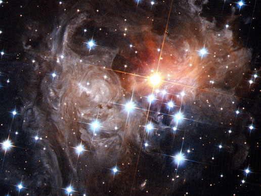 Variable star V838 Monocerotis