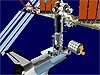 Node 2, Columbus, Japanese Experiment Module and SPDM installation animation