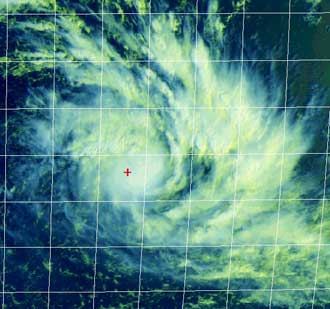 Image of tropical cyclone Dora