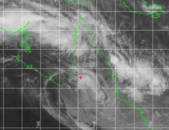 Image of Tropical Cyclone Nelson