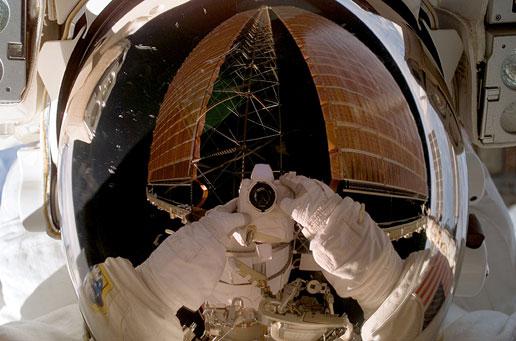 NASA - Williams During Spacewalk