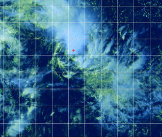 Satellite image of Tropical Cyclone 14S