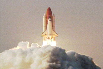STS-118 lifts off