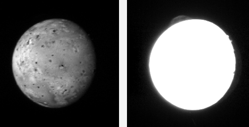 New Horizons image of Io
