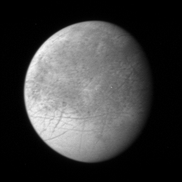 New Horizon's image of Europa