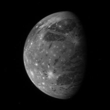 New Horizon's image of Ganymede