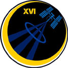 The official insignia for Expedition 16
