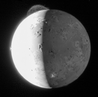 New Horizons image of Io volcano
