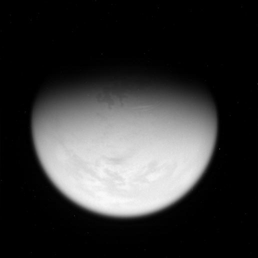 Lake-like feature in Titan's North Polar Region
