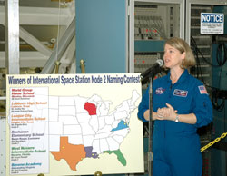 STS-120 Commander Pam Melroy.