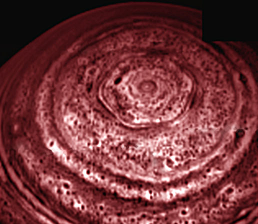Saturn's Active North Pole