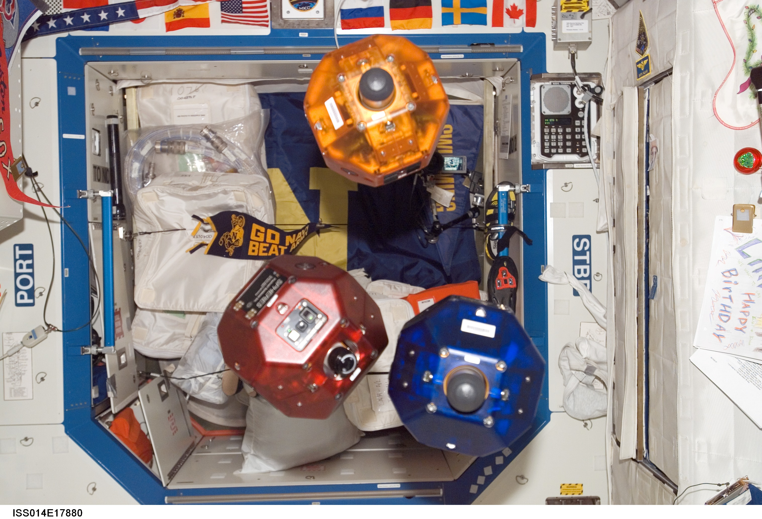 NASA - The SPHERES Experiment