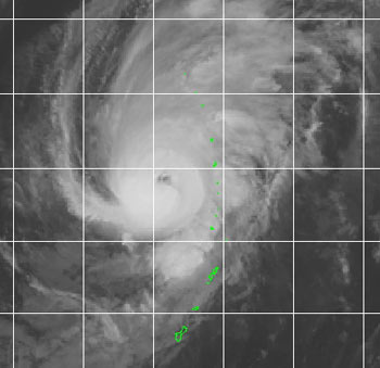 Photo of Tropical Cyclone Kong