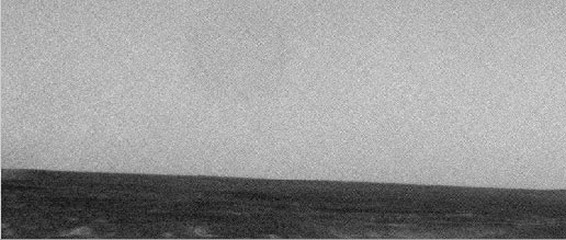 Wind gust seen from Mars Exploration Rover Spirit