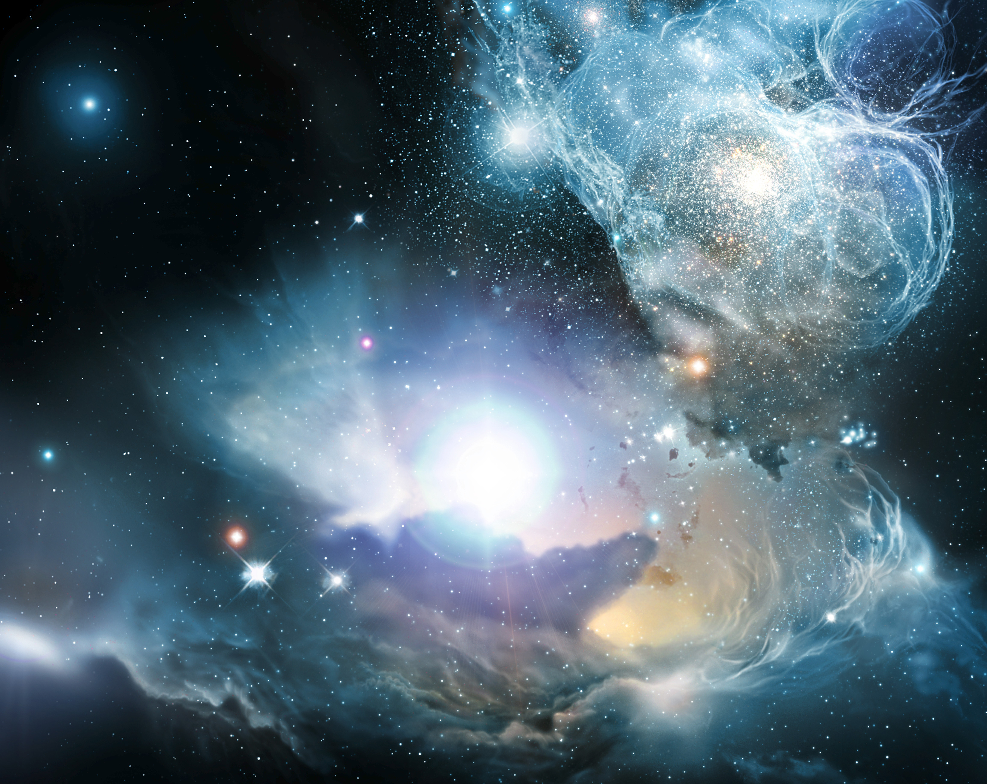 super popular 19109 94735 2007-4-21  Really pretty picture of stars and nebulae