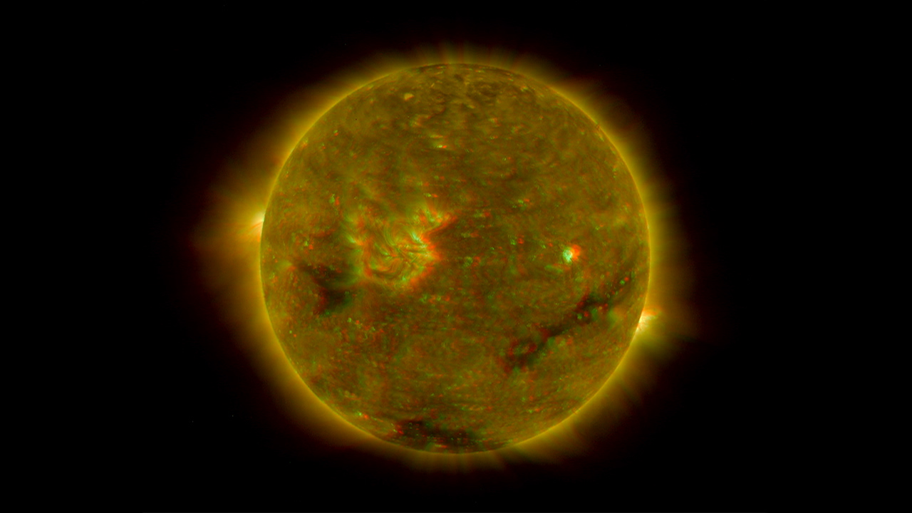 nasa stereo first 3 d images of the sun. Black Bedroom Furniture Sets. Home Design Ideas