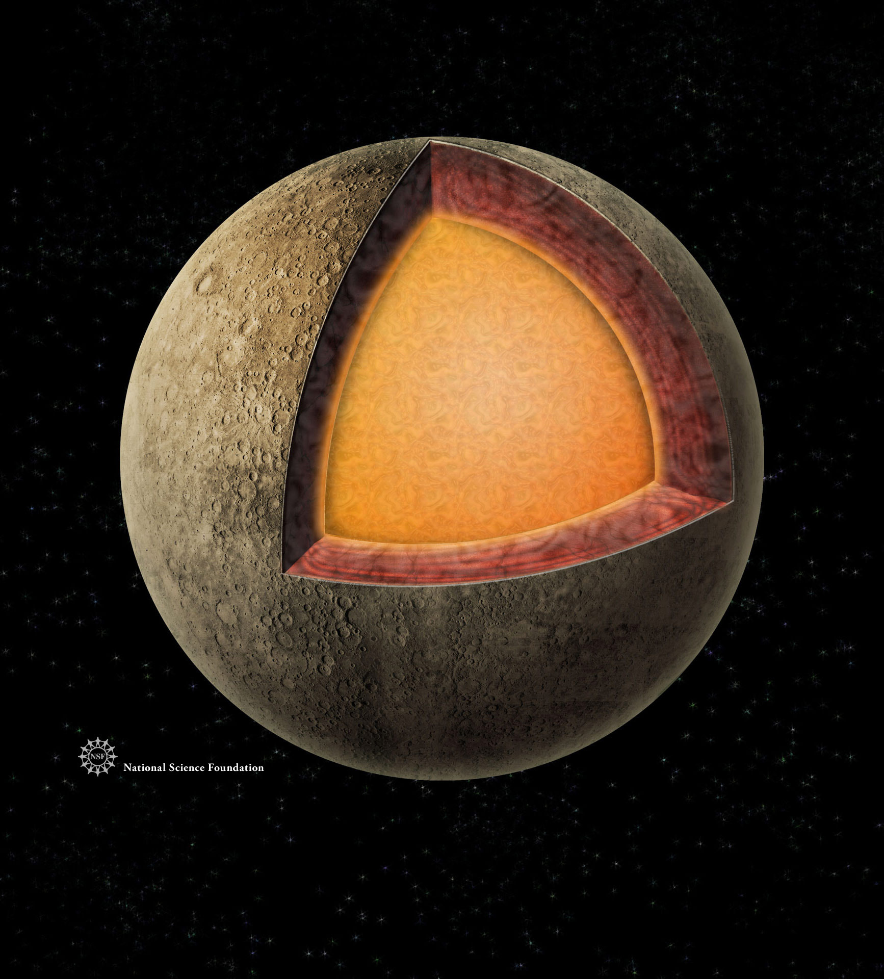 diagram of mercury planet drawing - photo #18