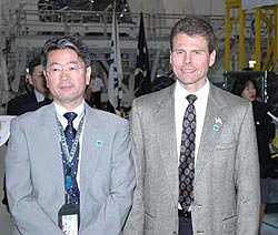 Koki Oikawa and Scott Higginbotham