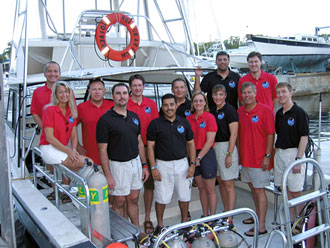 JSC2007-E-21810 : NEEMO 12 team group photo