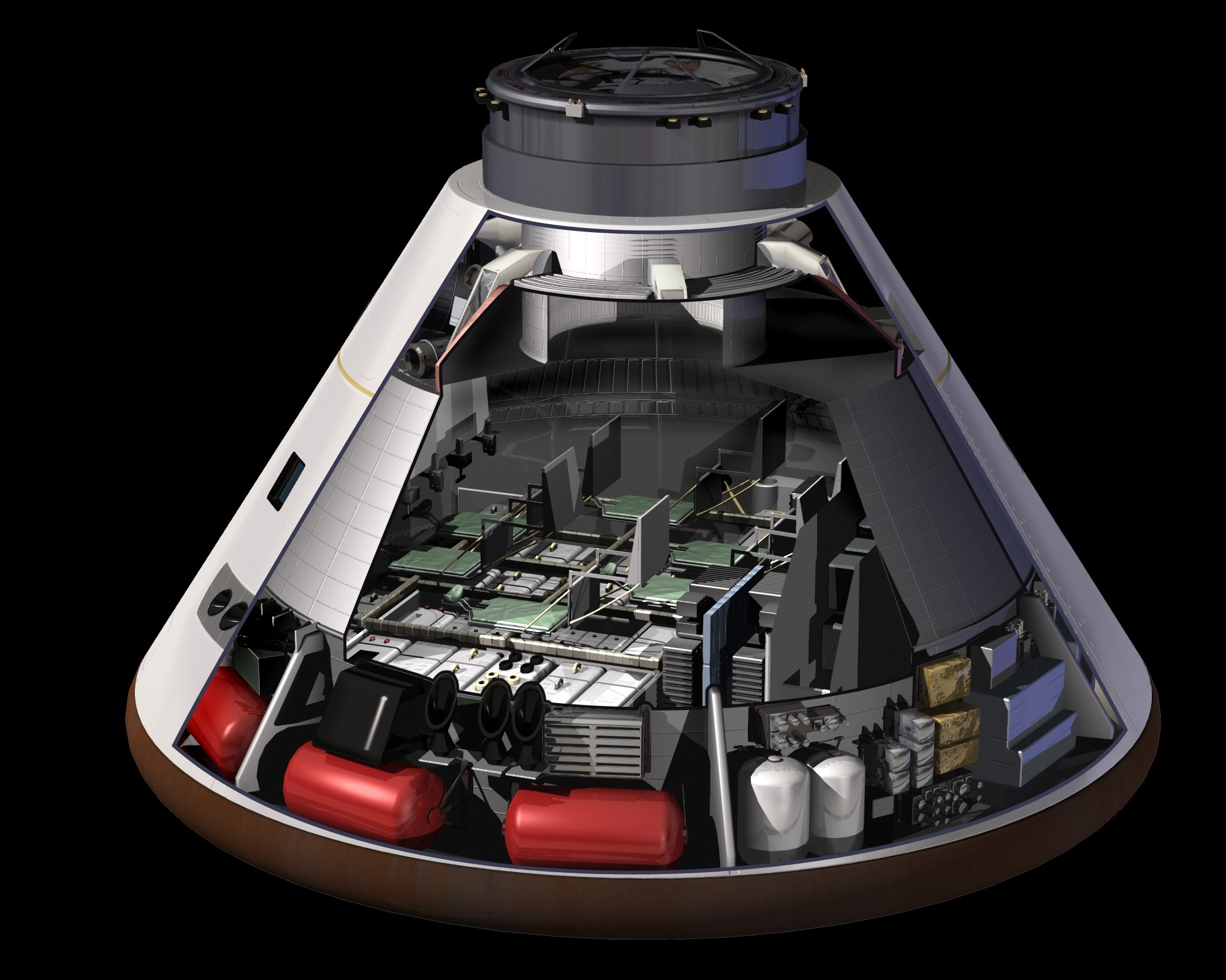 the good word groundswell: Orion Capsule Moves to NASA ...