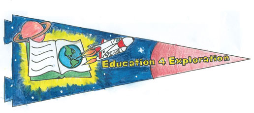Winning STS-118 Student Pennant