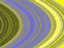 This false-color image of Saturn's main rings was made by combining data from multiple star occultations