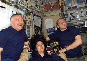 Expedition 15 crew