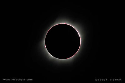 Total solar eclipse of 2005