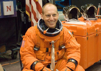 JSC2006-E-45212 - Mission Specialist Clayton Anderson