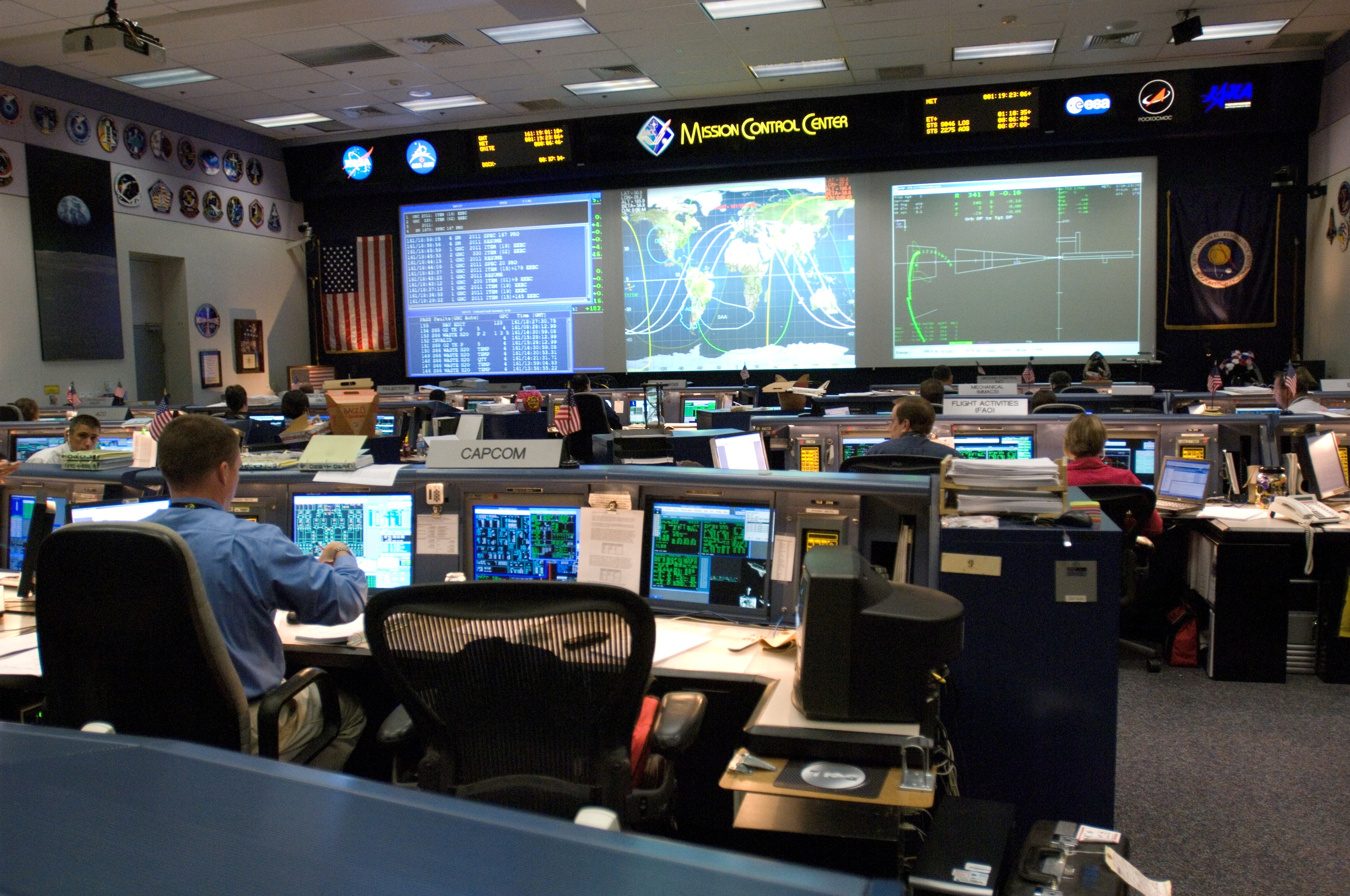 houston mission control center - photo #10
