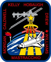 sts118s001 -- STS-118 Insignia