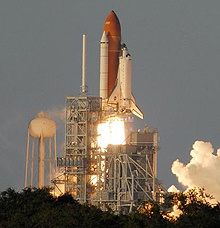 Space Shuttle Atlantis lifts off on mission STS-117