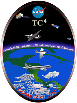 Tropical Composition, Cloud and Climate Coupling Logo