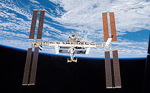 The International Space Station's new array addition