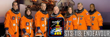 STS-118 Shuttle mission